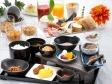 朝から美味しさいっぱい♪有機肥料と天然水で作られた『減農薬米』のご飯も、朝から箸が進んじゃう♪